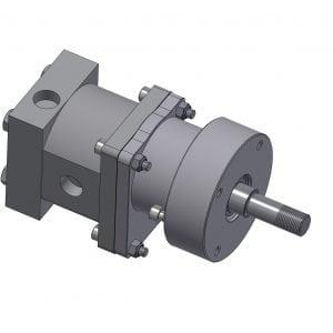 Hydaulic Motor Sub Assembly Housing and Motor Kit